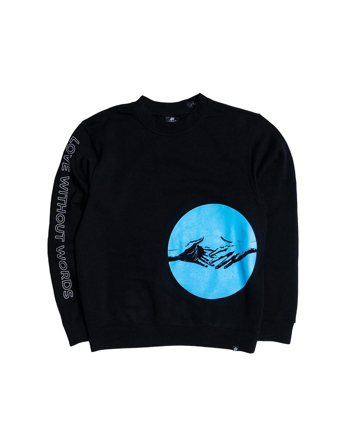 Love Without Words Black Sweater - OutsideIn