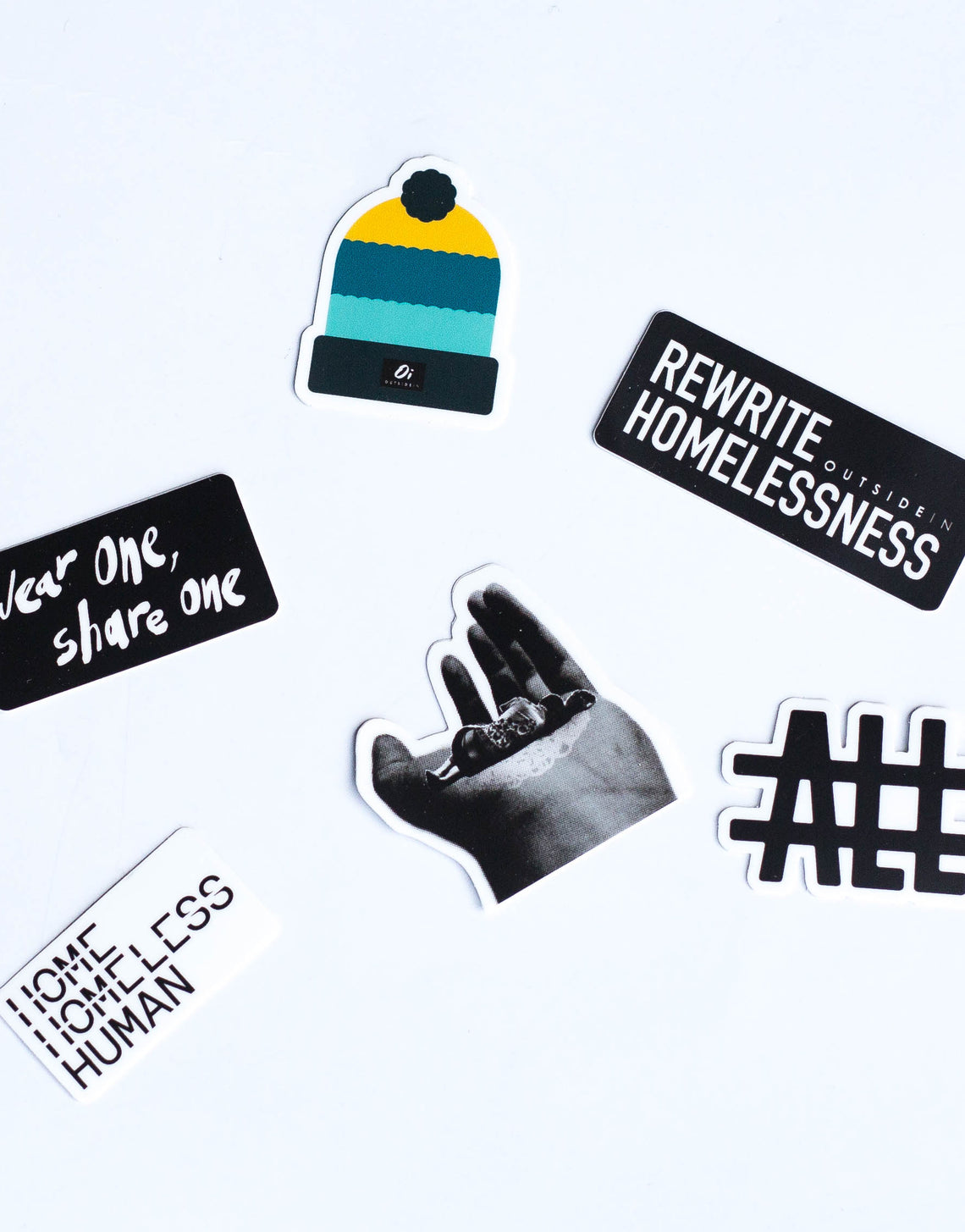 Wear One. Share One. Sticker Pack - OutsideIn