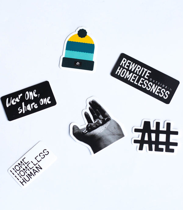 Wear One. Share One. Sticker Pack