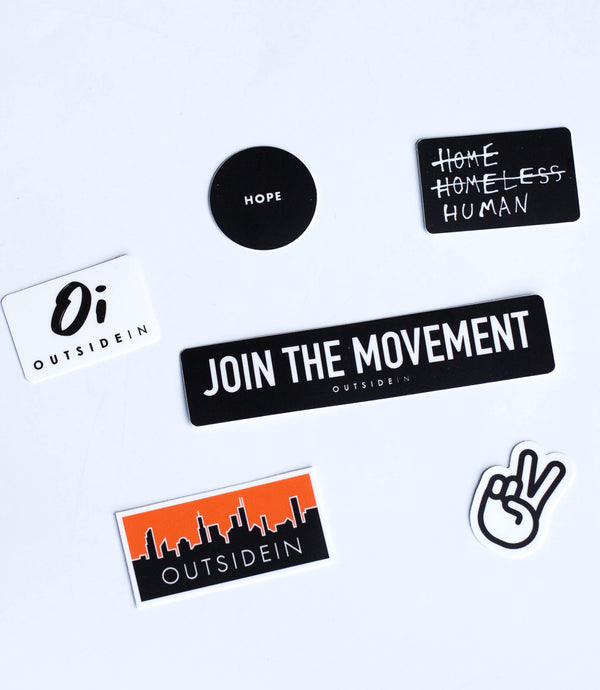 Join the Movement Stickers