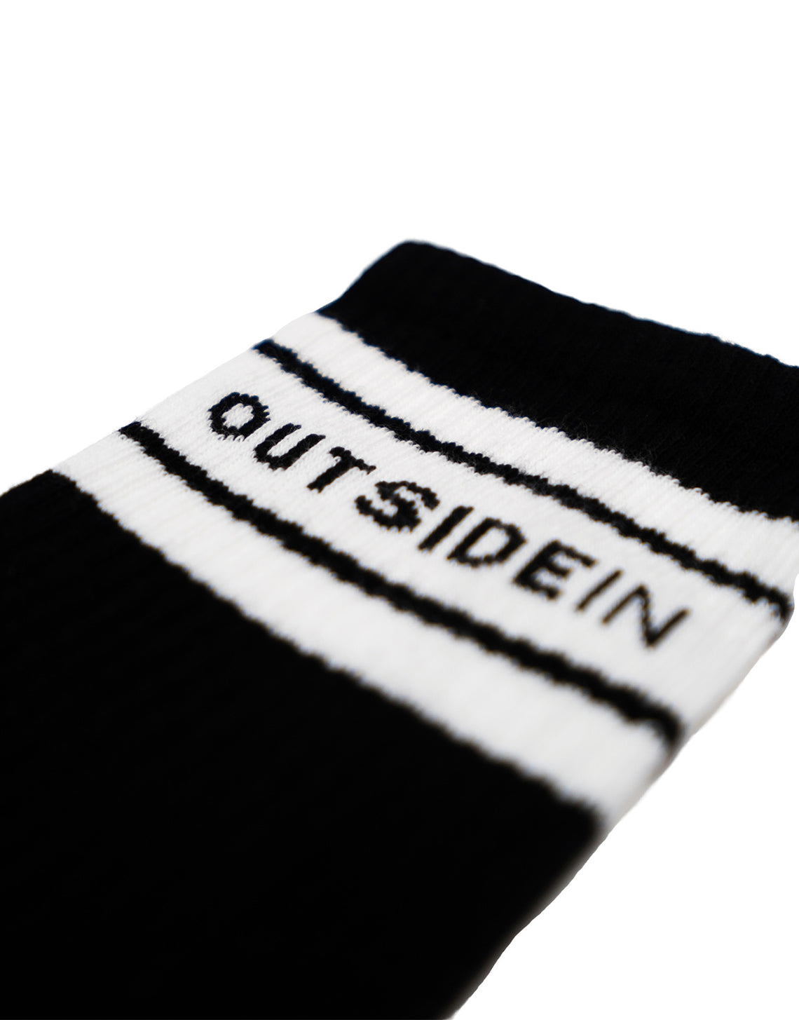 Outsidein Socks Black