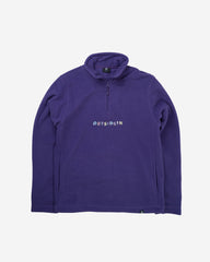 Purple Building Blocks Fleece