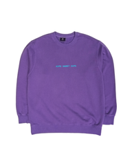 Purple Hope Sweet Hope Sweater
