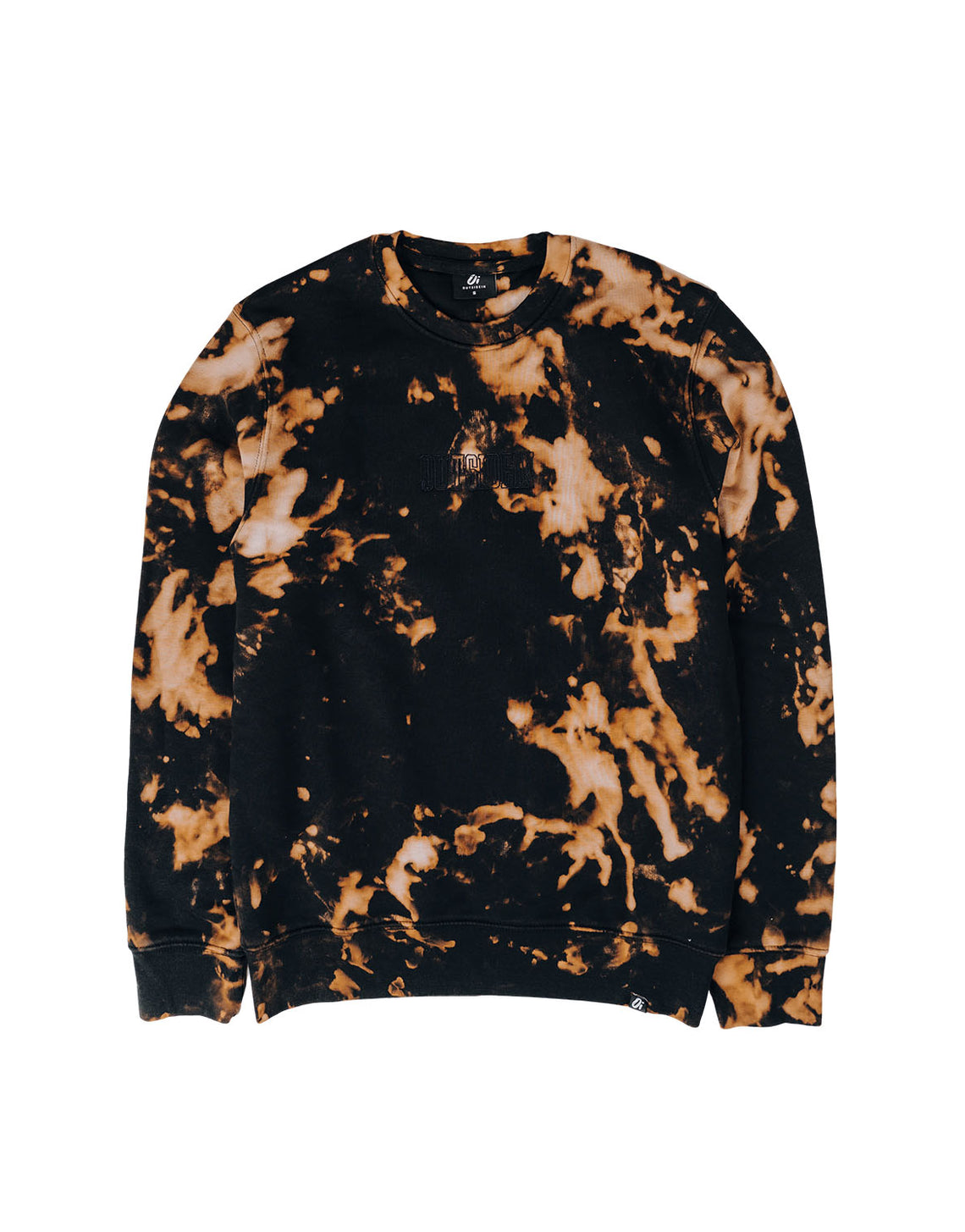 Black Tie Dye Sweater - OutsideIn
