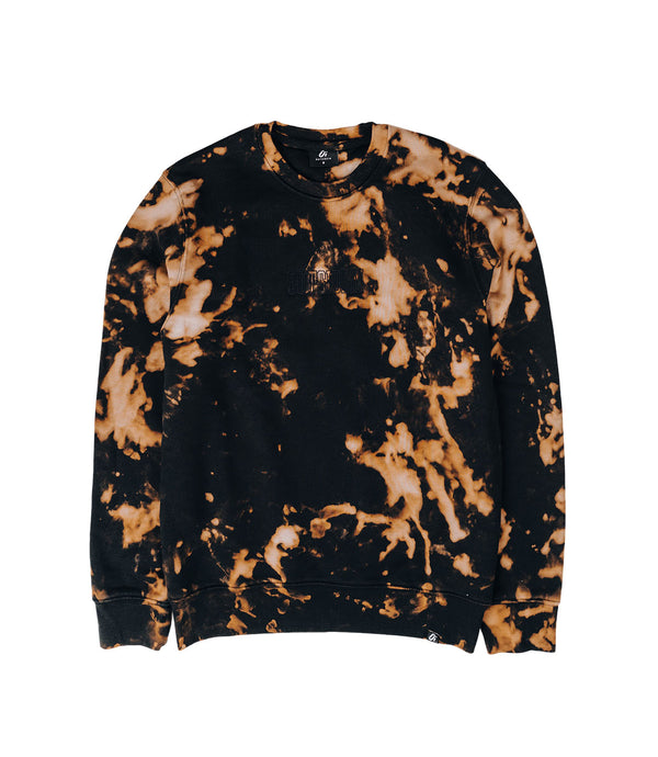 Black Tie Dye Sweater