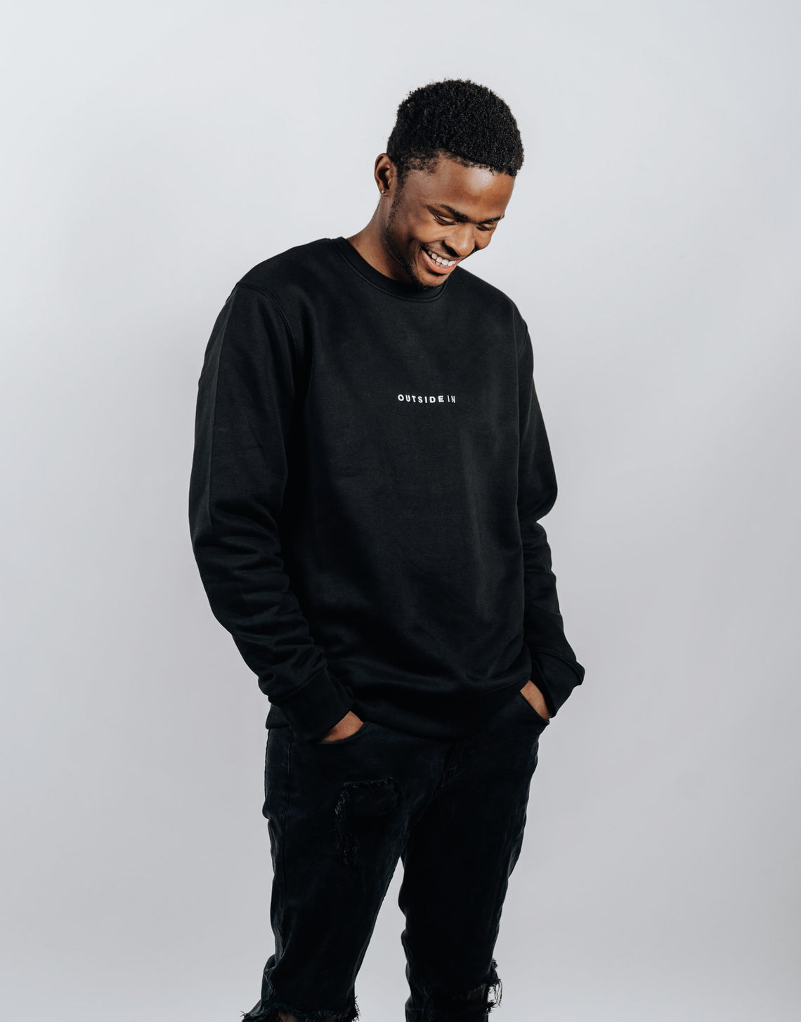 Black Essential Sweater