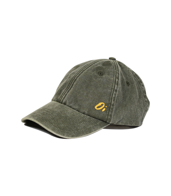 Washed Olive Oi Dad Cap