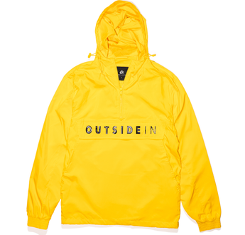 Load image into Gallery viewer, OutsideIn Yellow Half Zip | OutsideIn