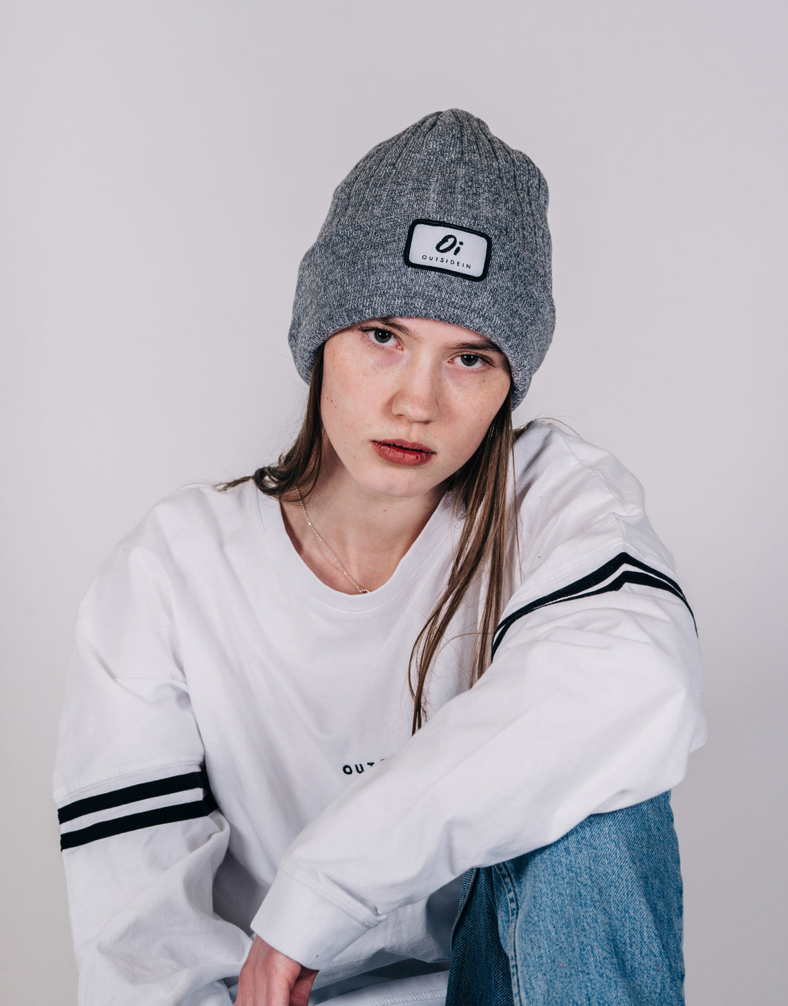 Grey Original Beanie - OutsideIn