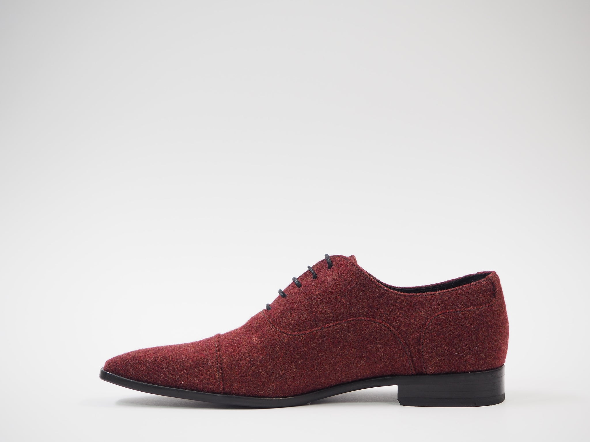 Size 42 - Maroon Tweed Oxford + Belt
