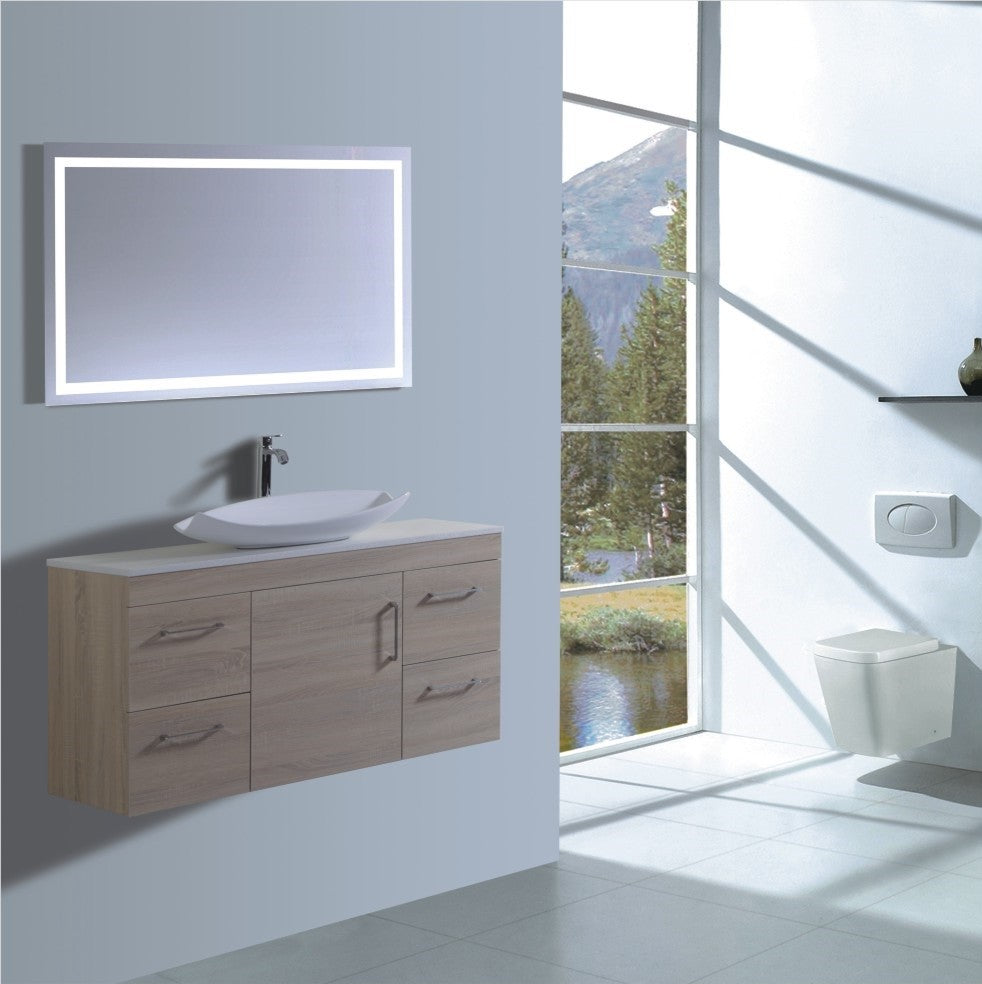 Lush Series VGN1200 OAK Wall Hung,Vanities,1200mm,thebathroomoutlet