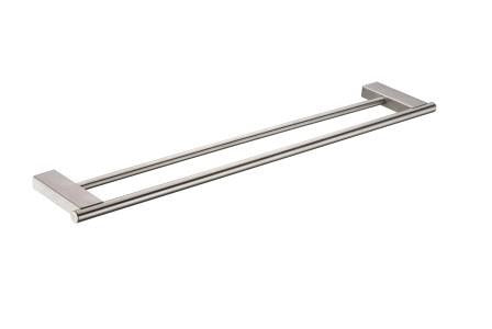 9515 Double Towel Rail,Bathroom Accessories,9515 Series,thebathroomoutlet