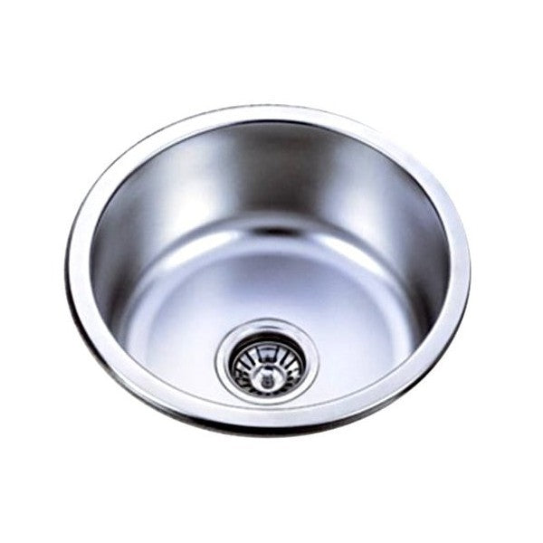Stainless Steel Round Sink KIR410,Kitchen Sinks,Inset Sinks,thebathroomoutlet