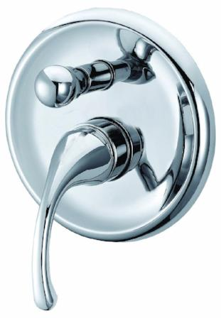 Fluid Shower Mixer With Diverter,Tapware,Fluid, Shower Tapware,thebathroomoutlet