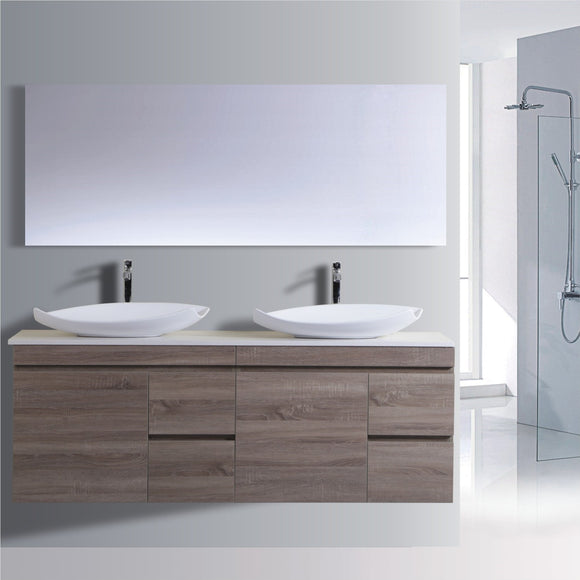 Reflex Series VGM1800 WGE Wall Hung,Vanities,1800mm,thebathroomoutlet