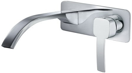 Toledo Wall Basin Mixer,Tapware,Bathroom Tapware, Toledo, Wall Basin/Bath Mixer,thebathroomoutlet