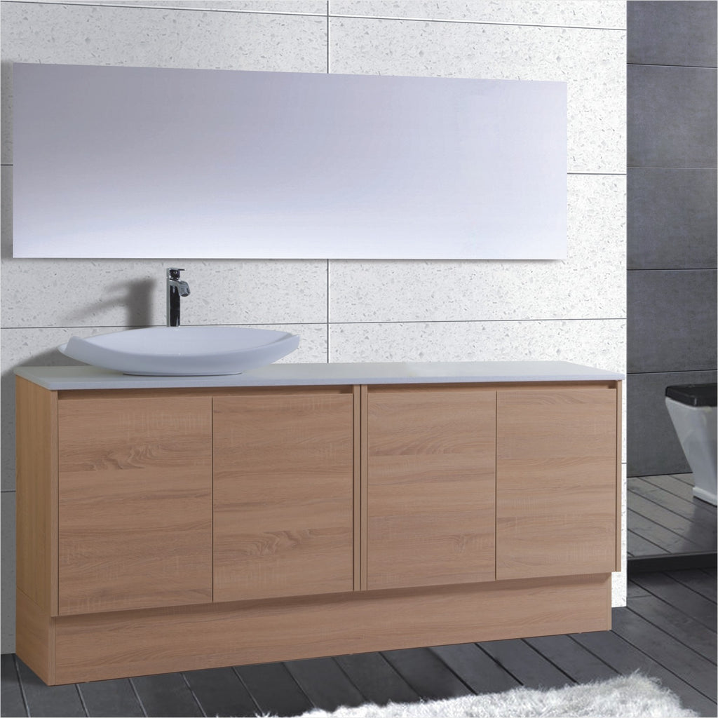 Caliber Series VMF1800DR OAK Free Standing,Vanities,1800mm,thebathroomoutlet