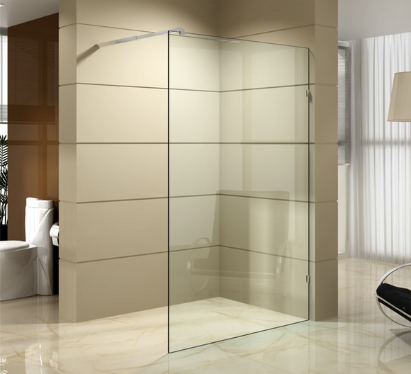 SF Series Frameless Walk-in Shower 1200mm SF1200A,Showers,Shower Screen,thebathroomoutlet
