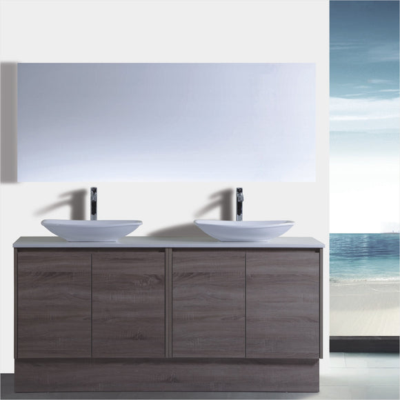 Caliber Series VMF1500DR WGE Free Standing,Vanities,1500mm,thebathroomoutlet