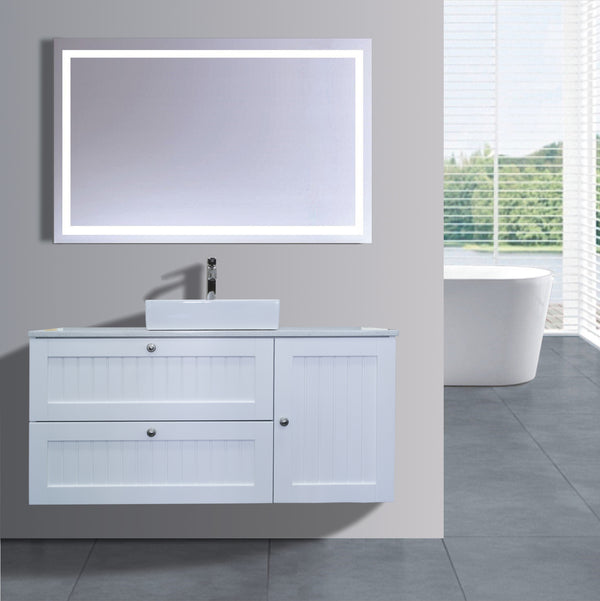 Venetian Series AS1200DR WHT Wall Hung,Vanities,1200mm,thebathroomoutlet