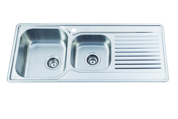 Kitchen Sink KID1080,Kitchen Sinks,Inset Sinks,thebathroomoutlet