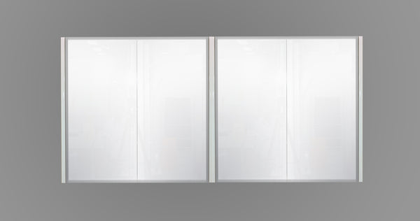 1500mm Mirror Cabinet White MC1500WHT