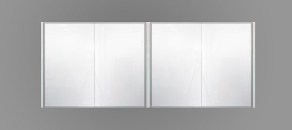 1800mm Mirror Cabinet White MC1800WHT,Mirrors,Mirror Cabinets,thebathroomoutlet