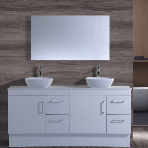 Lush Series VGN1800 WHT Free Standing,Vanities,1800mm,thebathroomoutlet
