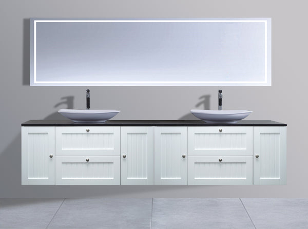Venetian Series AS2400 WHT Wall Hung,Vanities,1800mm,thebathroomoutlet