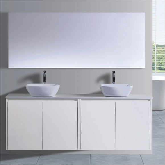 Caliber Series VMF1500DR WHT Wall Hung,Vanities,1500mm,thebathroomoutlet