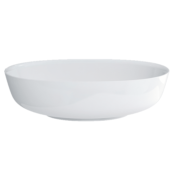 PLURO CLEARSTONE BASIN WITH CHROME WASTE