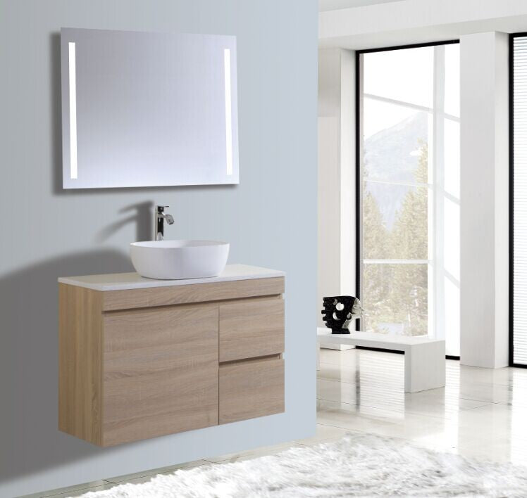 Reflex Series VGM900 OAK Wall Hung,Vanities,900mm,thebathroomoutlet