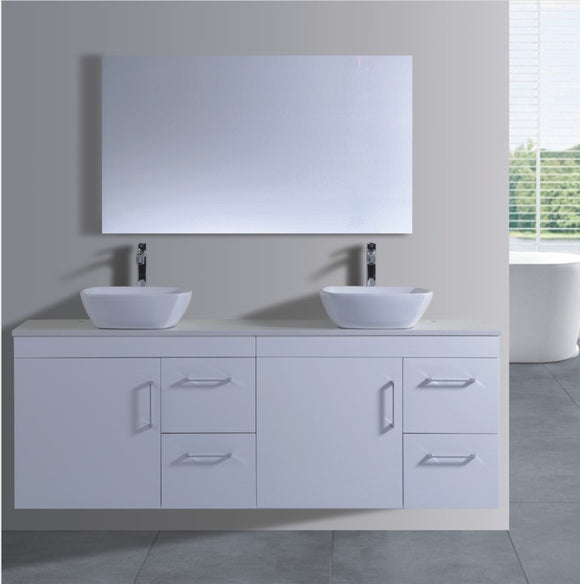 Lush Series VGN1800 WHT Wall Hung,Vanities,1800mm,thebathroomoutlet