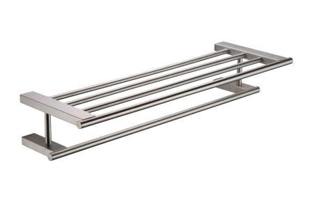 9515 Double Bathtowel Shelf,Bathroom Accessories,9515 Series,thebathroomoutlet