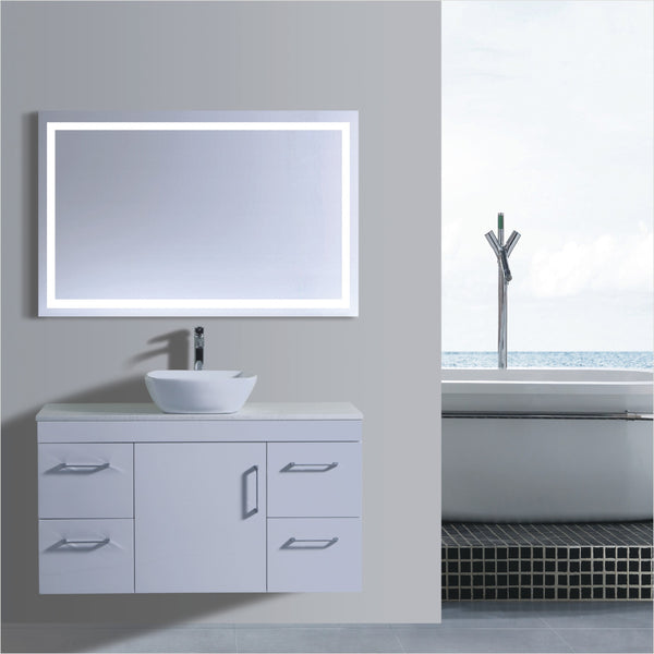 Lush Series VGN1200 WHT Wall Hung