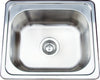 Stainless Steel Rectanglar Sink KIS6050,Kitchen Sinks,Inset Sinks,thebathroomoutlet