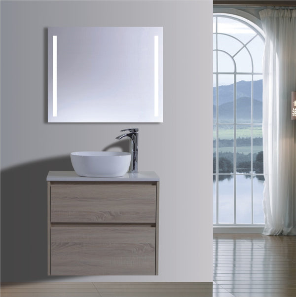 Caliber Series VMF750DW OAK Wall Hung,Vanities,750mm,thebathroomoutlet