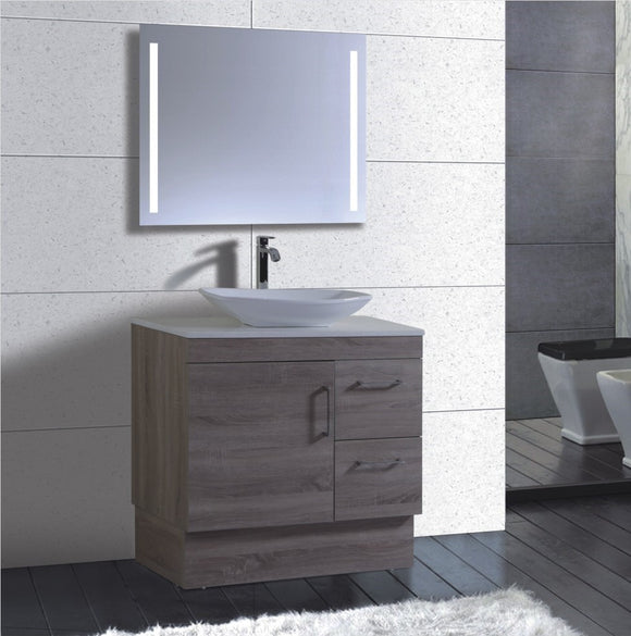 Lush Series VGN900 WGE Free Standing,Vanities,900mm,thebathroomoutlet