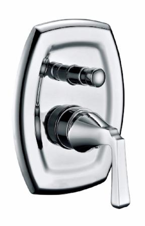 Aspen Shower Mixer with Diverter,Tapware,Aspen, Shower Tapware,thebathroomoutlet