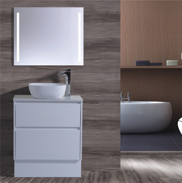 Caliber Series VMF750DW WHT Free Standing,Vanities,750mm,thebathroomoutlet