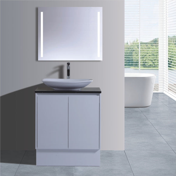 Caliber Series VMF750DR WHT Free Standing,Vanities,750mm,thebathroomoutlet
