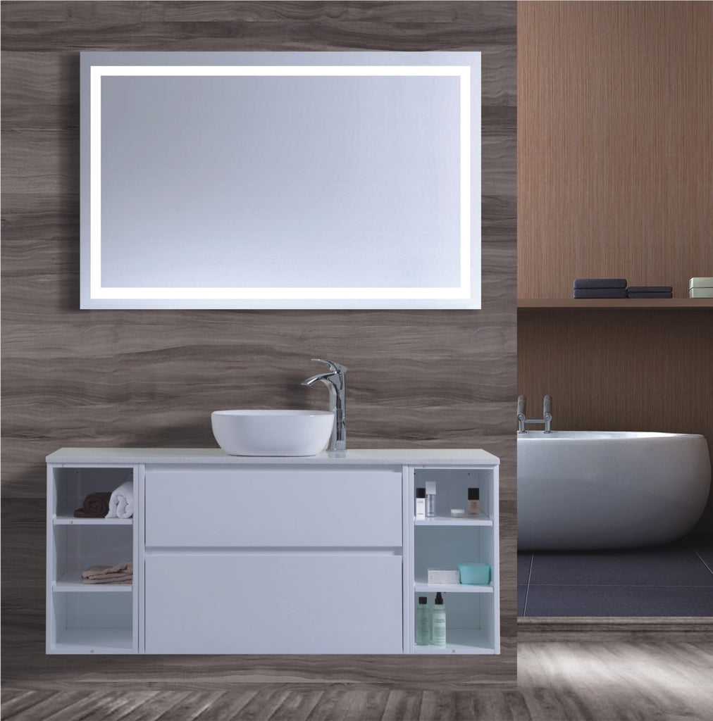 Caliber Series VMF1500DWS WHT Wall Hung,Vanities,1500mm,thebathroomoutlet