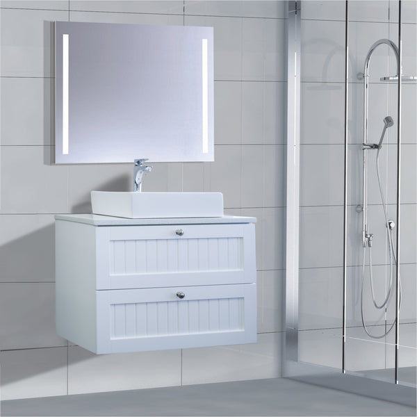 Venetian Series AS750DW WHT Wall Hung,Vanities,750mm,thebathroomoutlet