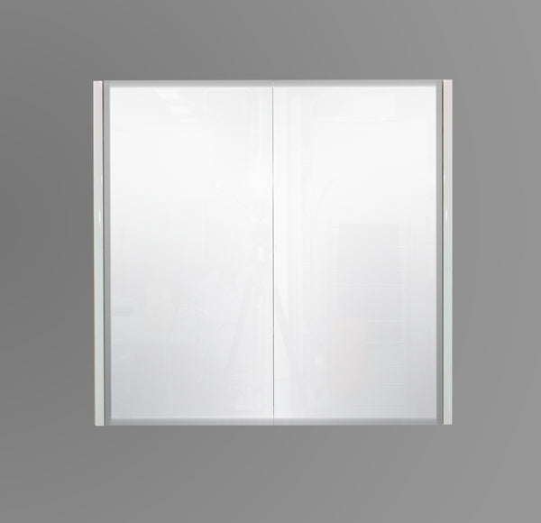 750mm Mirror Cabinet White MC750WHT,Mirrors,Mirror Cabinets,thebathroomoutlet