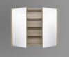 900mm Mirror Cabinet OAK MC900OAK,Mirrors,Mirror Cabinets,thebathroomoutlet
