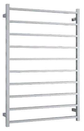 Thermorail  - SS88M Straight Square Ladder Heated Towel Rail
