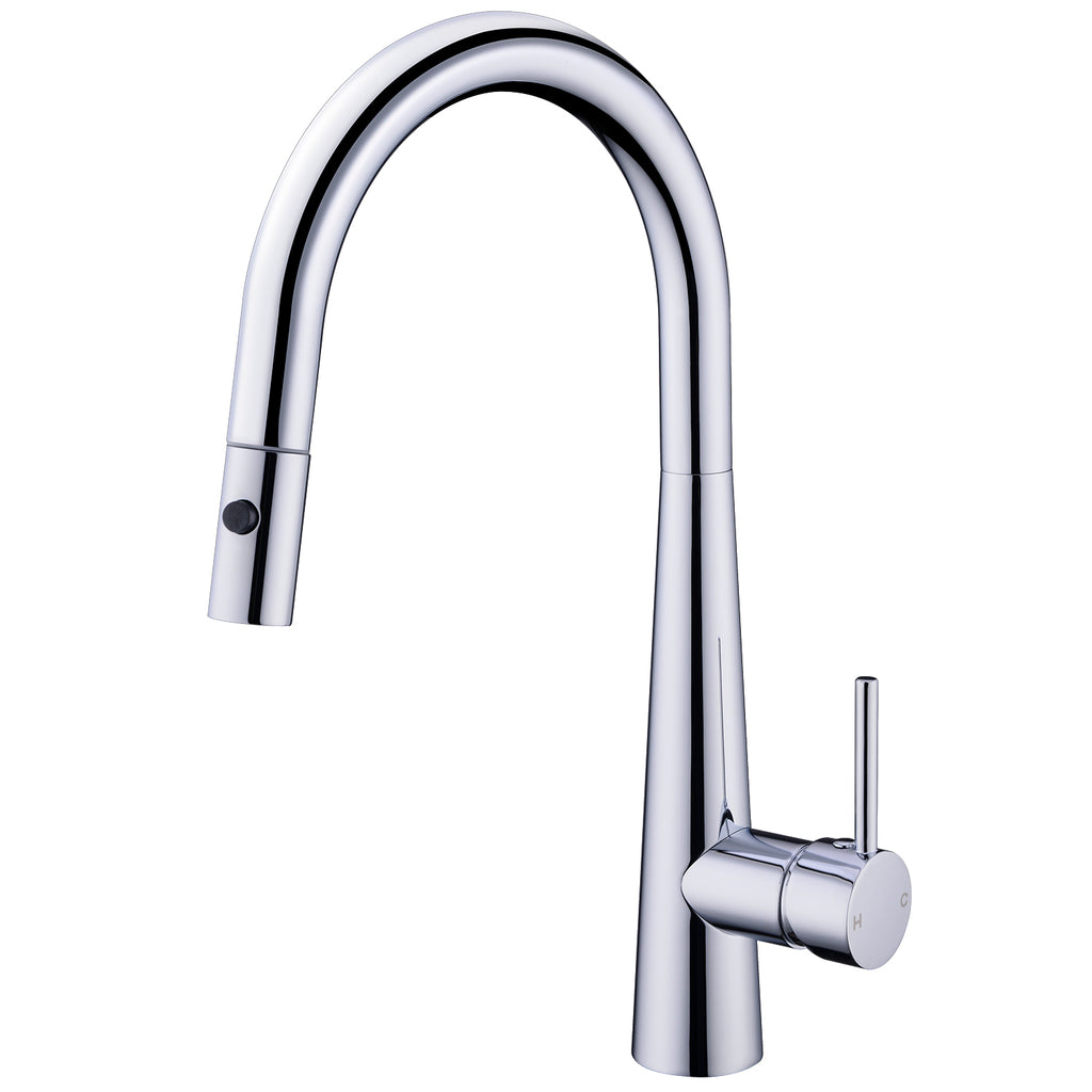 DOLCE PULL OUT SINK MIXER WITH VEGIE SPRAY FUNCTION