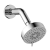 ABS 5 FUNCTION ROUND SHOWER WITH 190MM ARM
