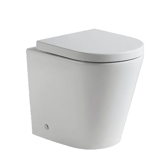 Eden Rimless In Wall Toilet Suite