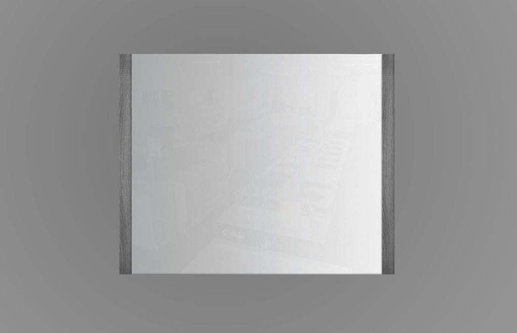 900mm Mirror Charcoal MR900CCO,Mirrors,Frame Mirror,thebathroomoutlet